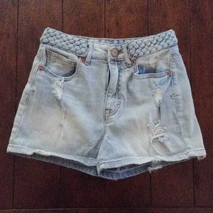 Bethany Mota High Waisted Shorty